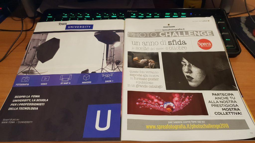 le mie recensioni su NPhotography nei mesi di marzo giugno e ottobre Sprea Fotografia Accademia Sprea Editori